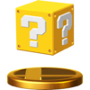 ? Block's trophy render from Super Smash Bros. for Wii U