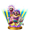 Wario-Man trophy from Super Smash Bros. for Wii U