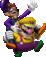 Artwork of Wario and Waluigi, from Mario Party 7