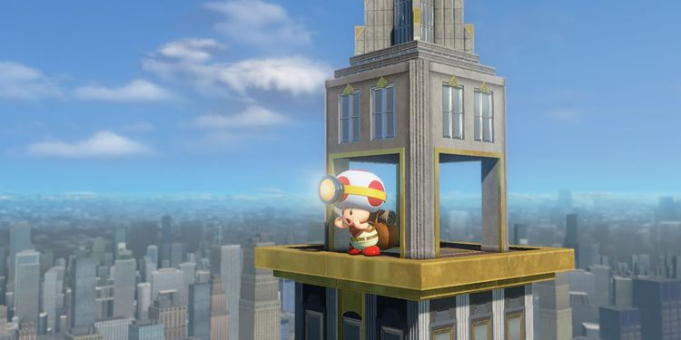 Picture shown with the third question of Captain Toad: Treasure Tracker Nintendo Switch Personality Quiz