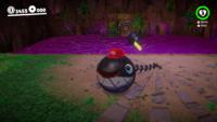 The Chain Chomp bonus area in Super Mario Odyssey