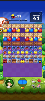 Stage 246 from Dr. Mario World