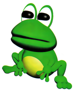 A frog from Yoshi's Story.