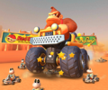 The icon of the Donkey Kong Cup's challenge from Mario Kart Tour.