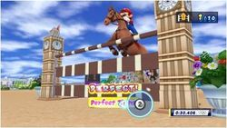 The equestrian event in Mario & Sonic at the London 2012 Olympic Games