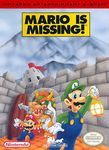 The box-art for Mario is Missing!