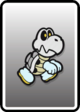 A Dry Bones card from Paper Mario: Color Splash