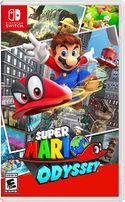 Super Mario Odyssey - final box art