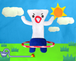 Wiggle Room in WarioWare: Smooth Moves.