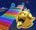 SNES Rainbow Road R/T from Mario Kart Tour