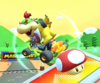 The icon of the Bowser Jr. Cup challenge from the Vancouver Tour and the Roy Cup challenge from the 2021 Trick Tour in Mario Kart Tour