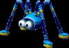 Model of the Skeeter enemy in Super Mario Sunshine.