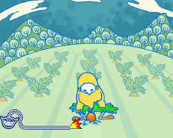 Carrot Away in WarioWare: Smooth Moves.
