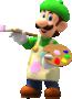Luigi (Painter) from Mario Kart Tour