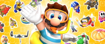 The Marine Pipe 2 from the Marine Tour in Mario Kart Tour