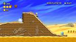 Luigi sighting in Spike's Tumbling Desert from New Super Luigi U
