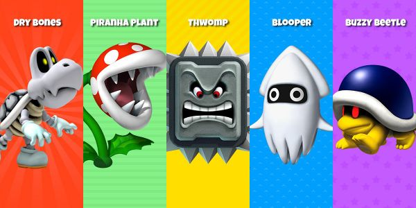 Banner for a Play Nintendo opinion poll on Puzzle & Dragons: Super Mario Bros. Edition baddies. Original filename: <tt>enemy_recruit_2x1-2.0290fa9874e6c2e6db1c3f61b1e85eb024429302.jpg</tt>