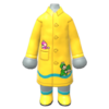 "The ""Frog Mario Raincoat"" Mii costume"