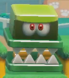 "A <span class=""explain"" style=""color:inherit"" title=""The name of this subject is conjectural and has not been officially confirmed."">Big Hop-Chops</span> in the Super Mario 3D World style from Super Mario Maker 2"