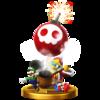 King Dedede's trophy render from Super Smash Bros. for Wii U