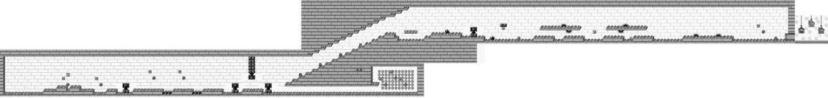 Map of Mario Zone Area 4