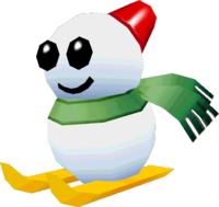A Dr. Freezegood model from Yoshi's New Island