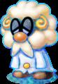 Dr. Snoozemore Artwork - Mario & Luigi Dream Team.png