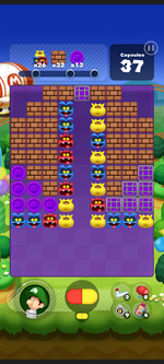 Stage 253 from Dr. Mario World