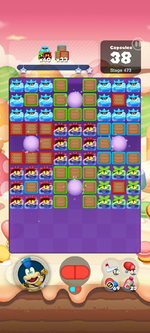 Stage 473 from Dr. Mario World