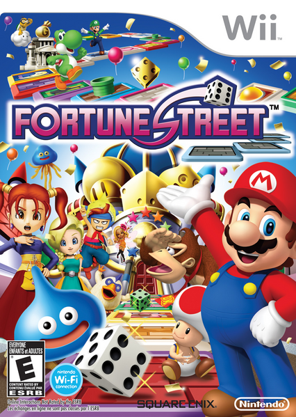 The US box art for Fortune Street.