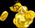 Golden Lakitu Artwork - New Super Mario Bros. 2.png
