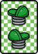A Hopslipper ×2 Card in Paper Mario: Color Splash.