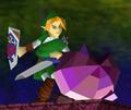 Link vs Polygon Kirby SSB64.png