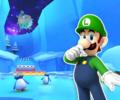 3DS Rosalina's Ice World R from Mario Kart Tour