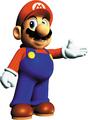 Mario Presenting Artwork - Super Mario 64.png
