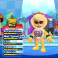 Bowser Jr. Mii Costume in the game Mario & Sonic at the London 2012 Olympic Games for the Wii.
