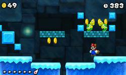 World Flower-A in New Super Mario Bros. 2.