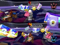 A Shine Thief battle at Nintendo GameCube.