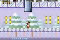 A screenshot of the level Slip Slidin' Away.