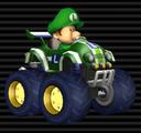 Baby Luigi in the Tiny Titan