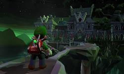 The Treacherous Mansion's intro in Luigi's Mansion: Dark Moon