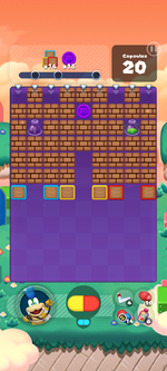 Stage 600 from Dr. Mario World