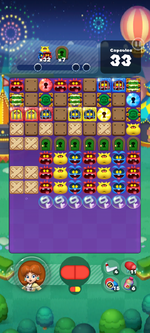 Stage 667 from Dr. Mario World