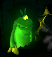 Garbage Can Ghost from Luigi's Mansion