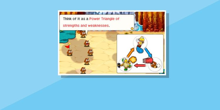 The image for the 2nd question of Mario & Luigi Superstar Saga + Bowser's Minions Game Personality Quiz