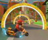 The icon of the Wendy Cup challenge from the Los Angeles Tour in Mario Kart Tour.
