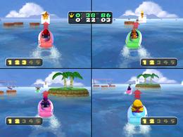Hydrostars from Mario Party 5
