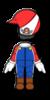 Mario Mii racing suit from Mario Kart 8