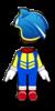 Sonic Mii racing suit from Mario Kart 8