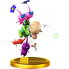 Olimar trophy from Super Smash Bros. for Wii U